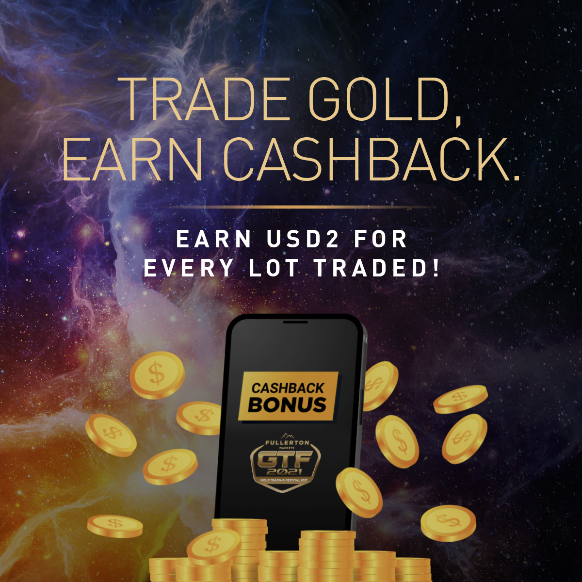 GTF 2021 - Cashback Bonus